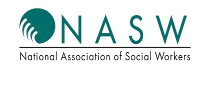 Logo of NASW with NASW AZ branches text